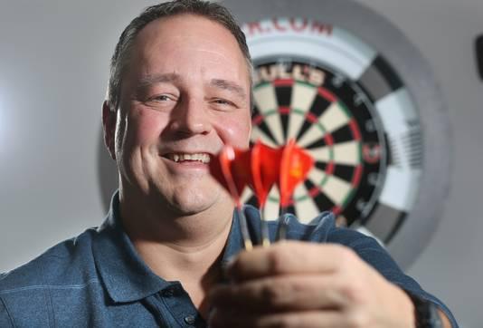 Dartsverslaggever Jacques Nieuwlaat.
