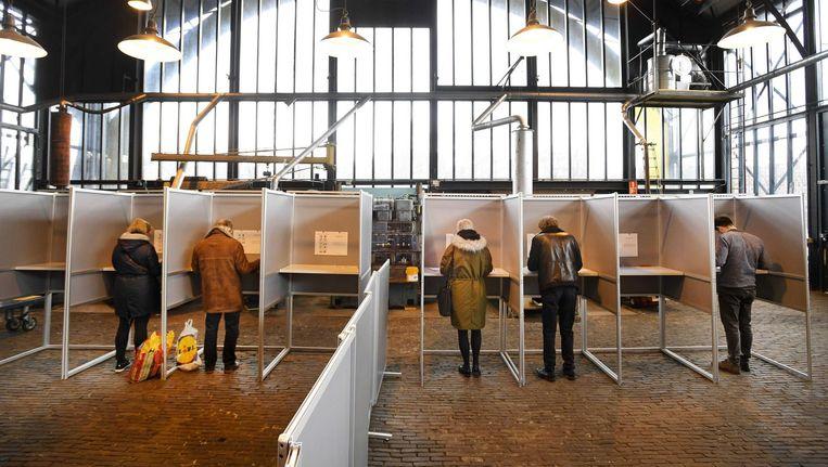 Een van de leuke stemplekken: Museumwerf 't Kromhout. Beeld anp