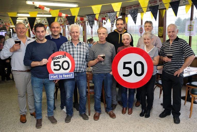 De 50ste verjaardag werd gevierd met een heus feestweekend.