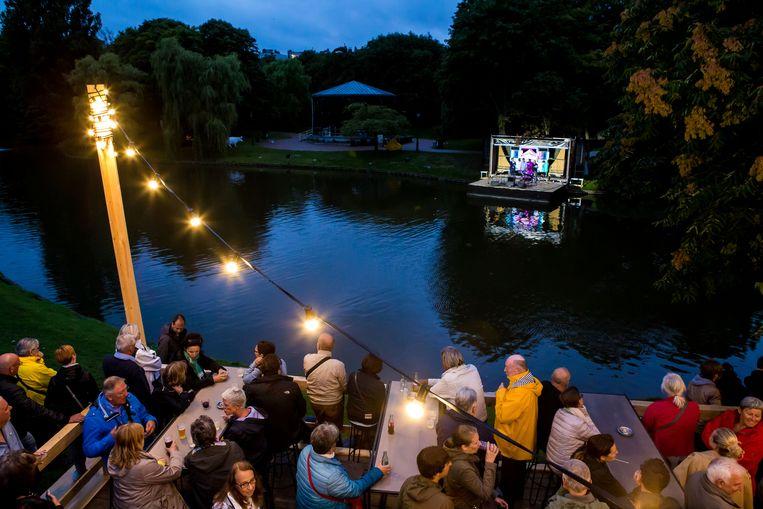 Een beeld uit precoronatijden. Onder meer TAZ heeft heel wat ervaring om concerten in openlucht te organiseren.