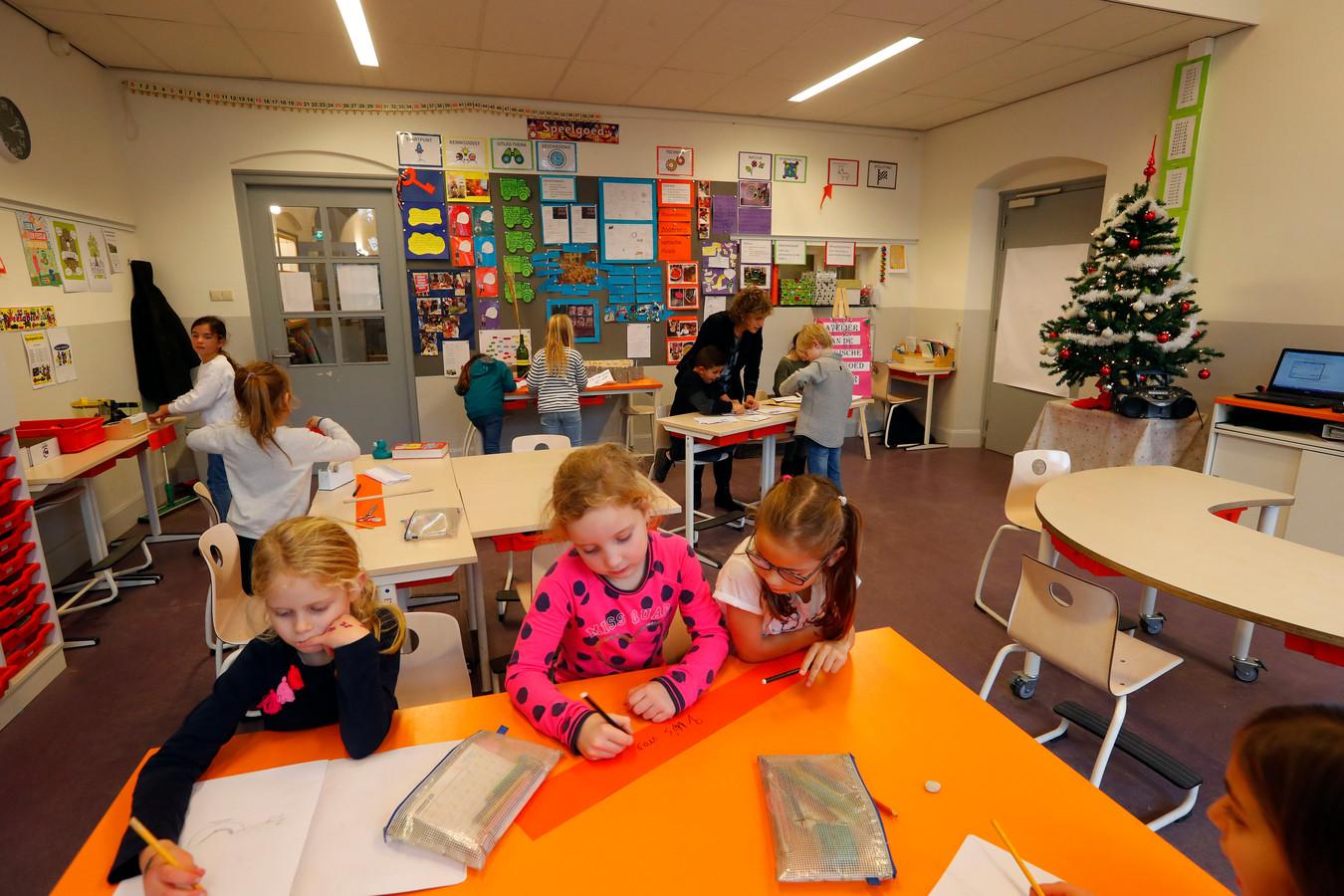 Basisschool De Reigerlaan in Eindhoven is ook bezig met internationalisering van het onderwijs.