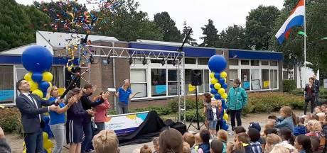 Spectaculaire opening van feestweek voor 40-jarige basisschool De Saffier