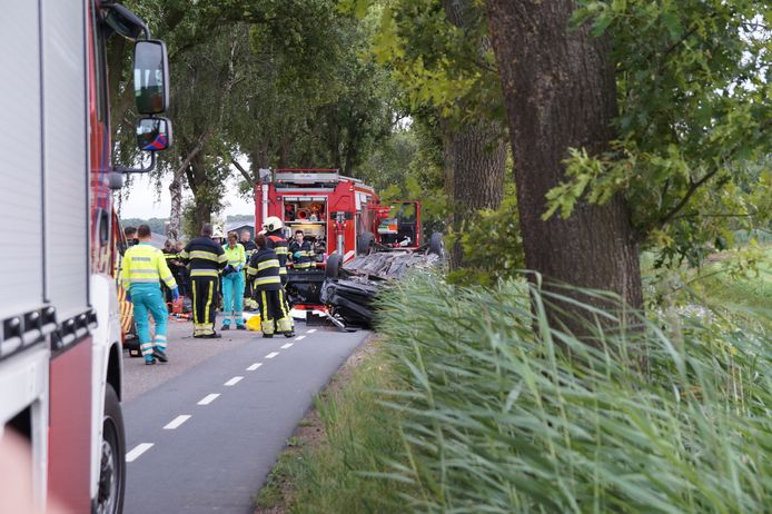 Ongeval Vendreef Vlijmen.