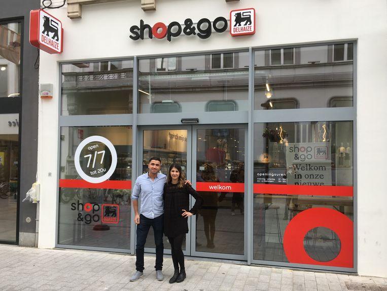 De nieuwe 'Shop&Go' opent de deuren op de Bruul.