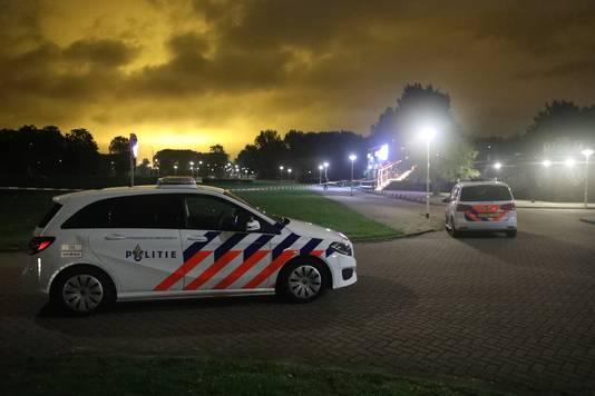 Club Magnum in Zoetermeer werd vannacht weer beschoten.