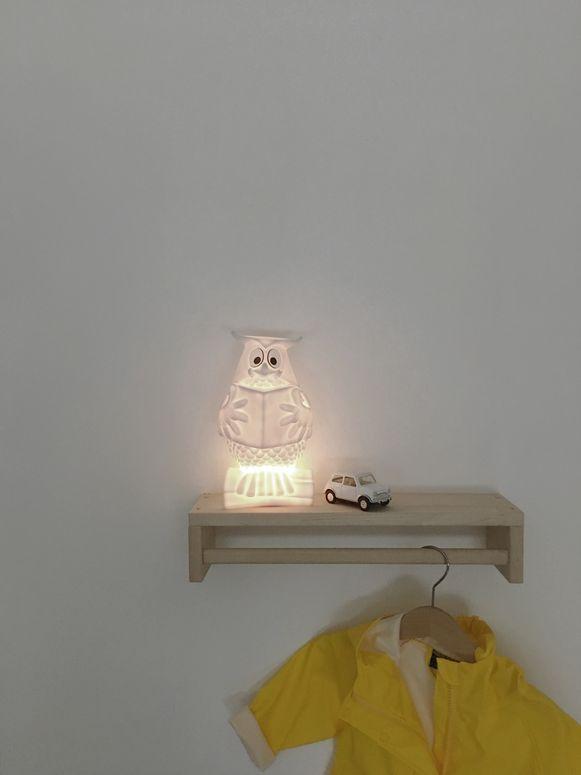 Nachtlampje, 45 euro.