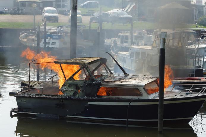 De boot was niet meer te redden