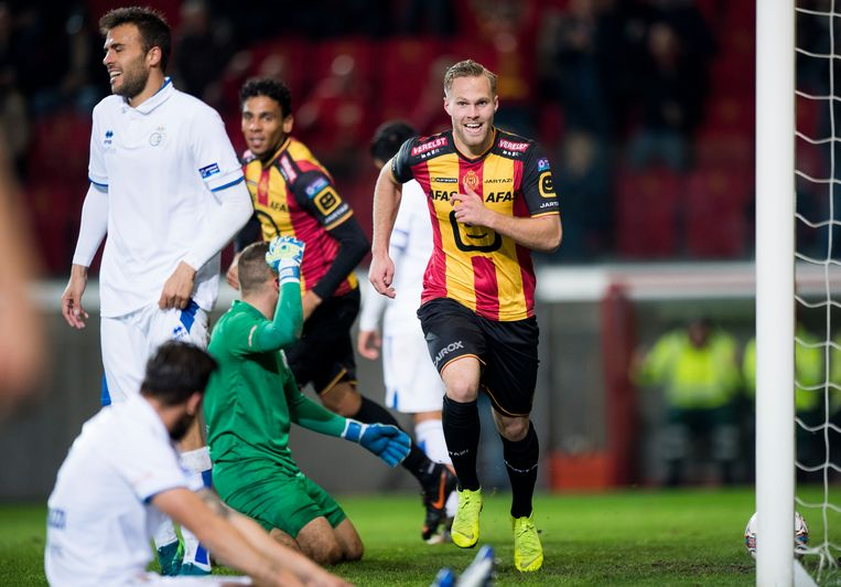 Engvall heeft er net 2-0 van gemaakt, KV Mechelen pakt de eersteperiodetitel.