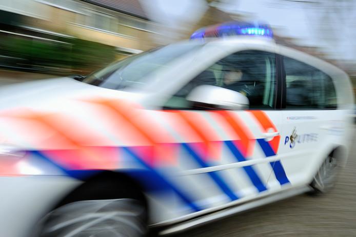 De politie zette de achtervolging in toen de Gorcumer niet wilde stoppen (foto ter illustratie).