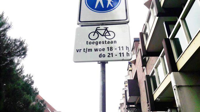 Het fietsverbod in het centrum van Oss is ingegaan.