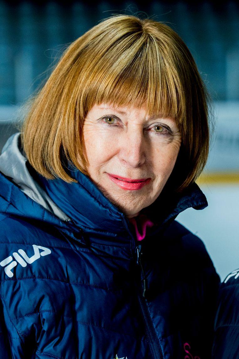 Joan Haanappel: 'Ik besloot iets voor sport én kinderen te doen'. Beeld Hollandse Hoogte / Robin Utrecht