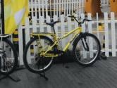 Un vélo exposé au Fan Park de Bruxelles a été volé