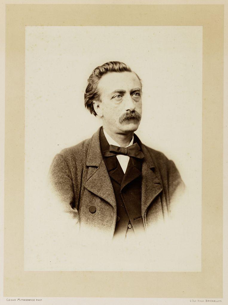 Eduard Douwes Dekker,  alias Multatuli.  Beeld César Mitkiewicz / Allard Pierson Museum