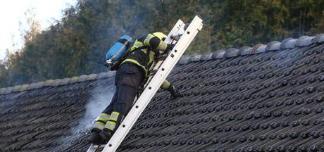 Brand in schuur in Best