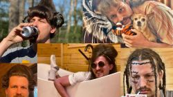 Hilarisch: deze haarstyliste geeft haar vriend elke dag een ander iconisch kapsel