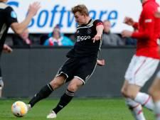 Ajax-aanvoerder De Ligt na tik in Alkmaar: 'Waren onszelf niet'