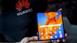 Huawei neemt het op tegen Samsung met verbeterde versie plooibare Mate XS