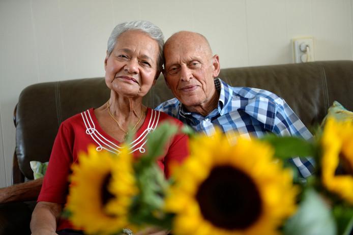 60 jaar getrouwd platina Hans en Maudy Boller uit Haaksbergen 60 jaar getrouwd  60 jaar getrouwd platina