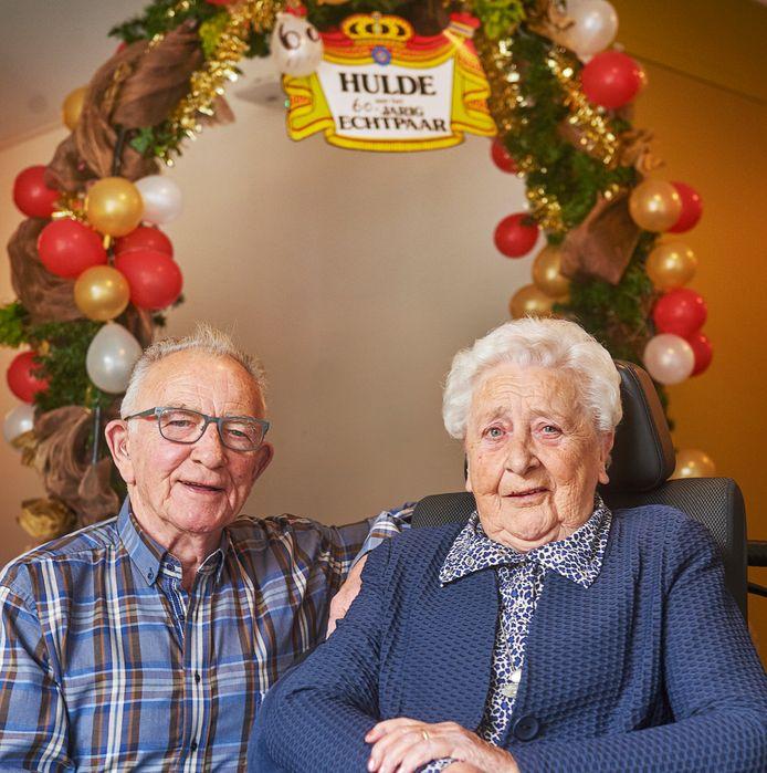 Diamanten paar Willie en Betsie van Orsouw- van Herpen uit Oss.Fotograaf: Van Assendelft/Jeroen Appels