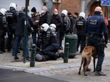 Manifestation contre la justice de classe à Bruxelles: 245 arrestations administratives