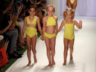 Jonge kinderen op de catwalk of het podium, kinderarbeid of niet?