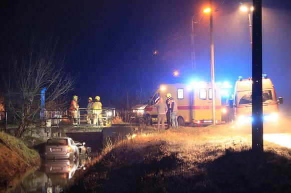 Het ongeval gebeurde ter hoogte van het bufferbekken van de Schuilhoek op de grens met Nieuwkerken.