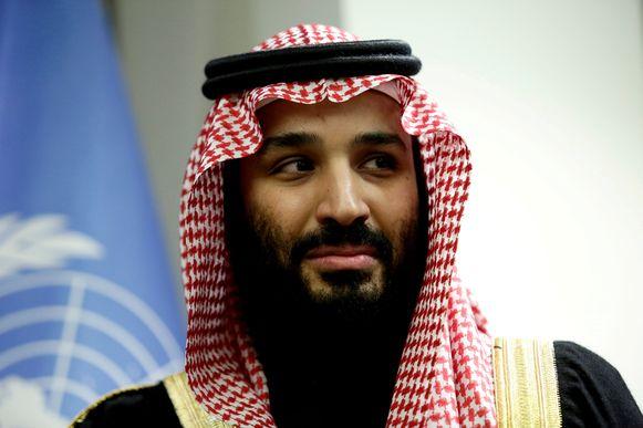De Saudische kroonprins Mohammed bin Salman.