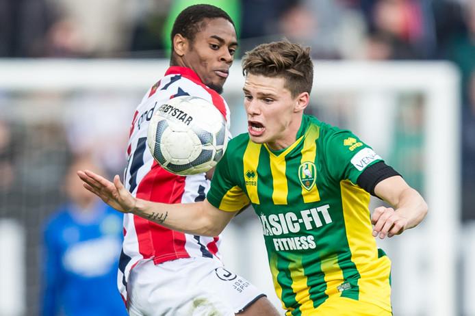 Terell Ondaan was weer de beste speler bij Willem II.