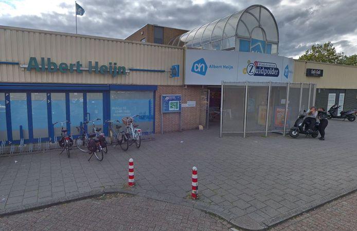 Albert Heijn-vestiging in winkelcentrum Zuidpolder, Terneuzen.