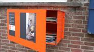 Boekenkastjes steken in duurzaam jasje