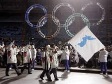 Noord- en Zuid-Korea onder één vlag bij openingsceremonie Spelen