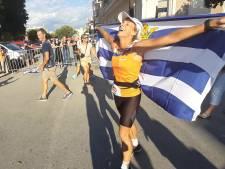 Leonie Ton wint ondanks 'matige' voorbereiding in Spijkenisse