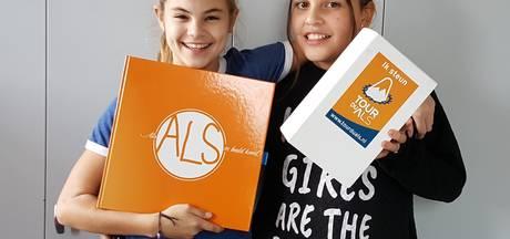 12-jarige meisjes uit Oirschot vervullen wensen ALS-patiënten