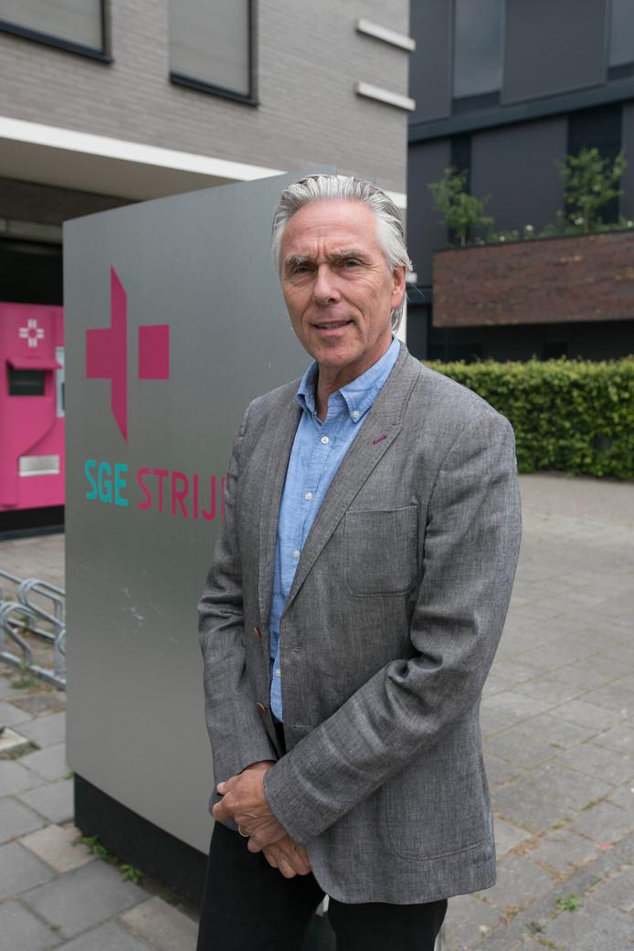 Eindhoven Ed Berends, lid van de Raad van Bestuur van SGE en als huisarts verbonden aan het Gezondheidscentrum Stratum.