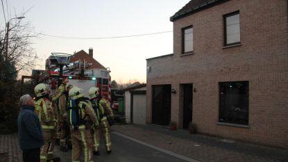 Verstopte schoorsteen tijdig opgemerkt: geen schade en geen gewonden