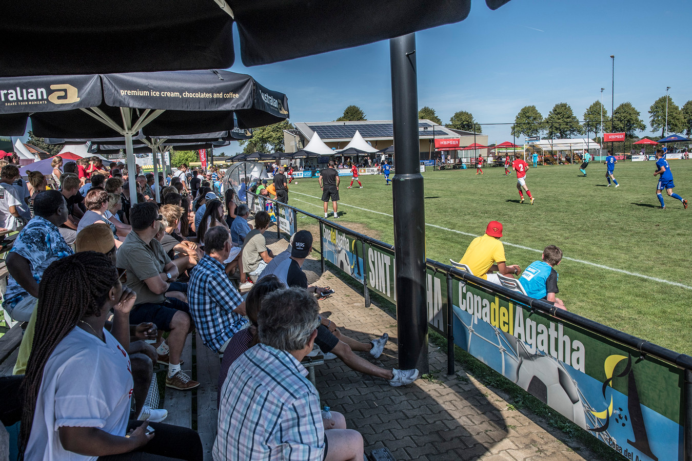 De tiende editie van de Copa del Agatha trok vorige maand duizend toeschouwers.