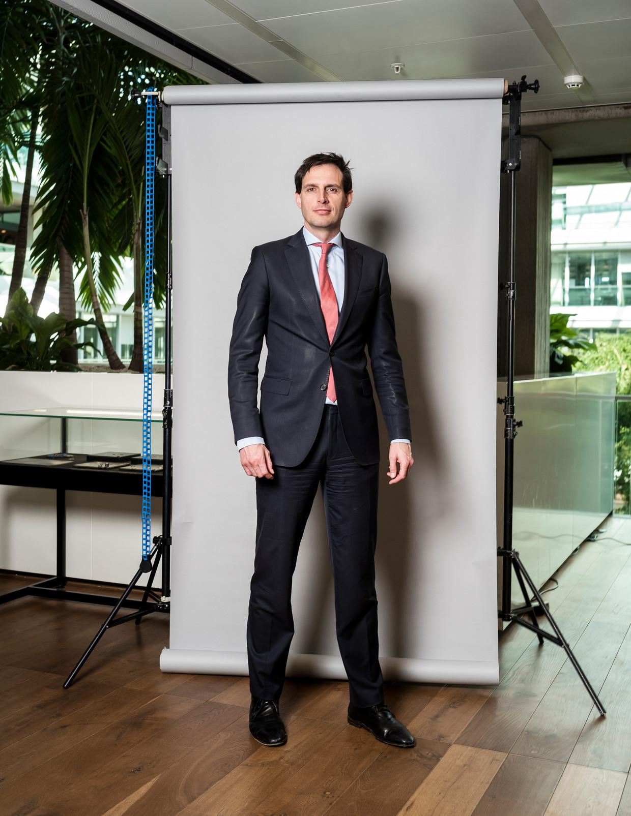 Minister Wopke Hoekstra van Financiën. Beeld Jiri Büller / de Volkskrant