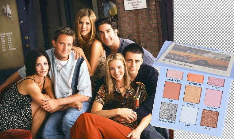 De nieuwe Friends make-up lijn komt uit op 16 september.