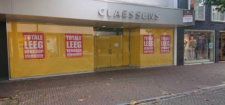Claessens verhuist met schoenen naar het Osse Walplein