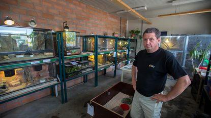 Inbraak in Tuinbouwschool: spin en slangen gestolen