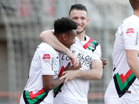 NEC ontsnapt in Volendam aan puntenverlies: play-offs in zicht