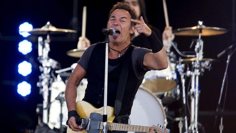 Bruce Springsteen op PinkPop in 2009. © ANP Beeld