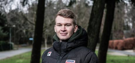Marathonschaatser Casper de Gier hoopt nog even te knallen