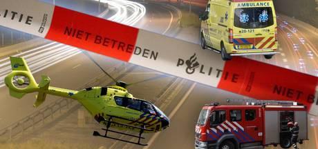 Gewonden bij brand Roosendaal, boetes geïnd en busje rijdt van de A16