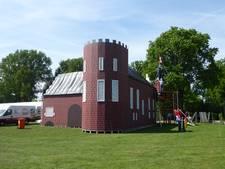 Kasteel Frisselstein in Veghel klaar voor Middeleeuwse spelen