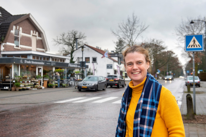 """Heelsum, 10 januari 2020. Judith de Vree, organisator van de uit de as herrezen Avondmarkt in Heelsum. ,,Ik doe het op mijn eigen manier."""""""