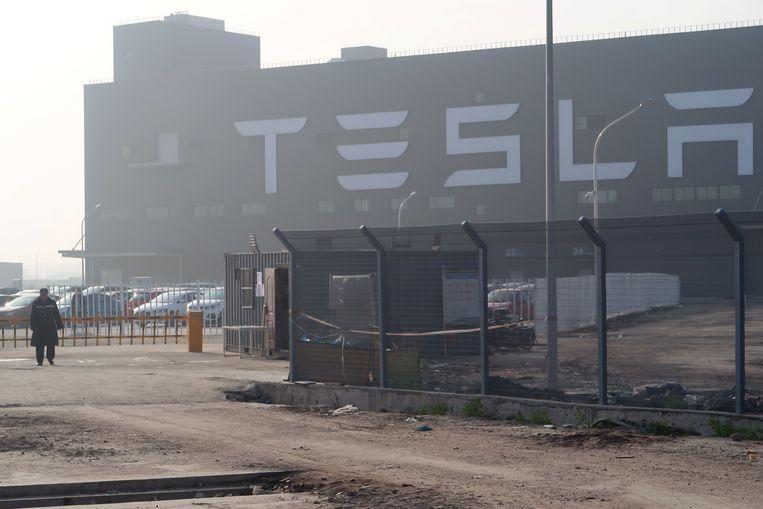 De eerste gigafabriek van Tesla  in China.