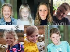 Dit zijn ze: de kandidaat-kinderburgemeesters van Noord-Beveland