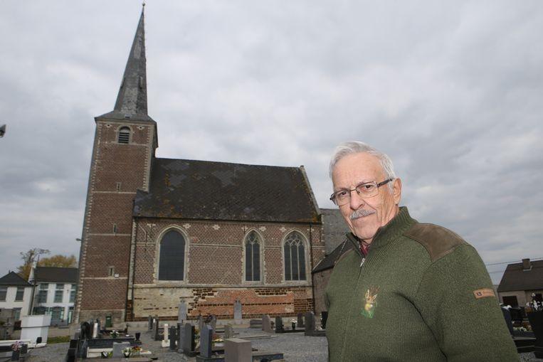 Marcel Vande Gaer was 42 jaar penningmeester van de kerkfabriek van Meensel.