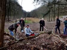 'Pluim' van 250 euro voor werkgroep Pagnevaartbos Bosschenhoofd